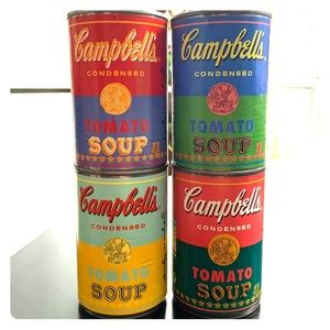 Andy Warhol x Campbells Soup Cans